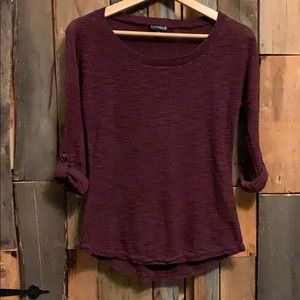 Express 3/4 Sleeve Top - Size XS